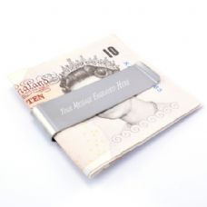 Personalised Engraved Money Clip